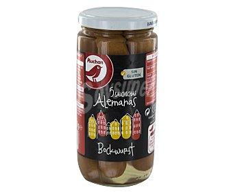 Producto Alcampo Salchichas Bockwurst cocidas y ahumadas Frasco de 200 g