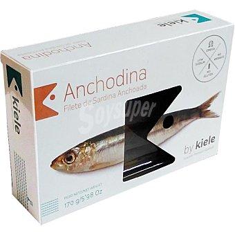 Kiele Filete de sardina anchoada Lata 100 g neto escurrido