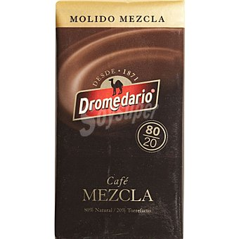 Dromedario Café molido mezcla 80-20 Paquete 250 g