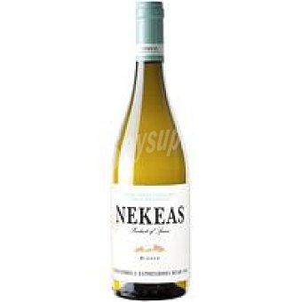 Nekeas Vino Blanco Viura Chardonnay D.O. Navarra Botella 75 cl