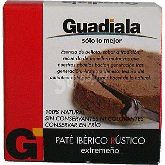 Guadiala Paté ibérico rústico extremeño Envase 70 g