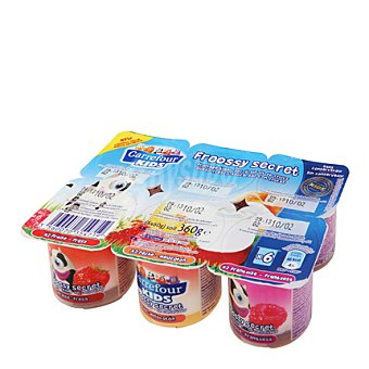 Carrefour Kids Petit con base de frutas Pack de 6x60 g