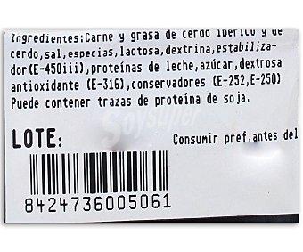 Vallesantina Longaniza Ibérica Mezcla Extra 400 Gramos