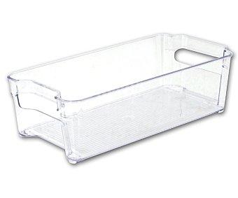 MONDEX Cajón organizador para figrofífico, fabricado en plástico resistente transparente, 5 litros de capacidad, 32x15,7x10 centímetros 1 unidad