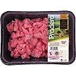 Ternera Suprema Raza Rubia carne magra/ ragout para estofado IGP Ternera Gallega peso aproximado Bandeja 500 g Pradera
