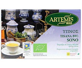 Artemis Bio Tisana bio duerme artemis 20 ud