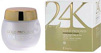 Deliplus Crema facial dia regenerador celular (spf 10) gold progress Tarro 50 ml