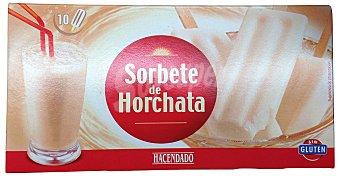 HACENDADO Helado palo horchata Caja 10 u