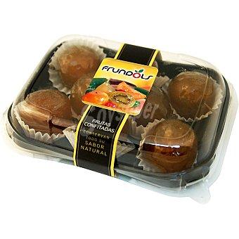 FRUNDOLS Surtido de ciruelas claudias glaseadas Estuche 400 g
