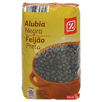 DIA Alubia negra bolsa 500 gr Bolsa 500 gr