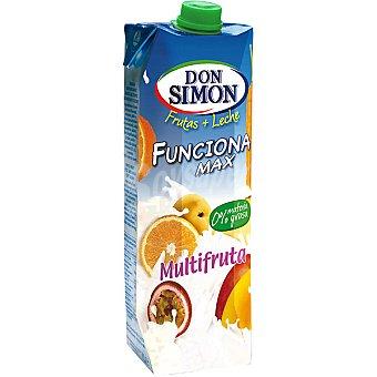 DON SIMON Funciona Max Multifruta fruta + leche Envase 1 l