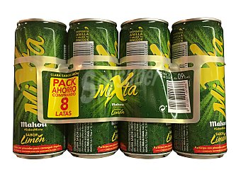 Mixta Mahou Cerveza con limón mixta 8 unidades de 330 cc (2640 cc)