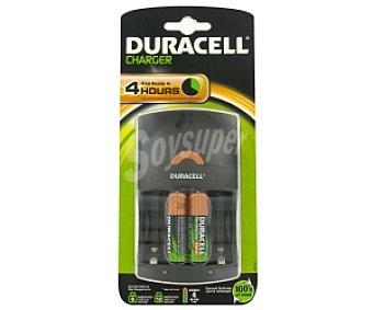 Duracell Cargador Cef 14 +2 pilas AA 1700 1 Unidad