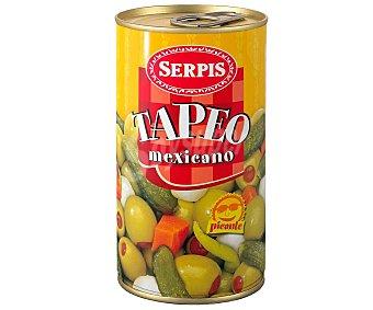 Serpis Encurtidos surtidos mexicano Lata de 150 gramos