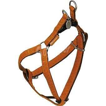 Nayeco Colección Macleather arnes para perro color marrón medidas 50-75 cm x 2 cm 1 unidad