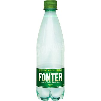 Fonter Agua mineral con gas Botellín 33 cl