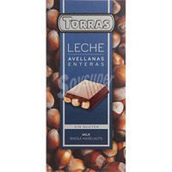 Torras Chocolate con leche de avellanas Tableta 200 g