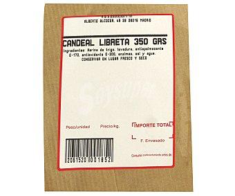 PAN CANDEAL Hogaza candeal 350 gramos