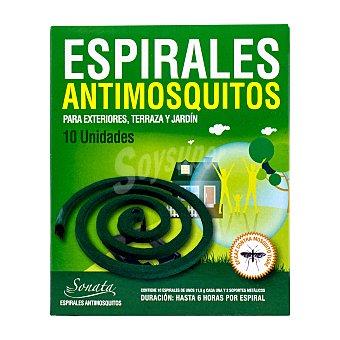 Bosque Verde Insecticida espiral antimosquito Paquete 10 u