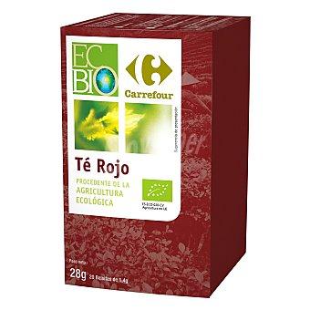 Carrefour Bio Té rojo 20 ud