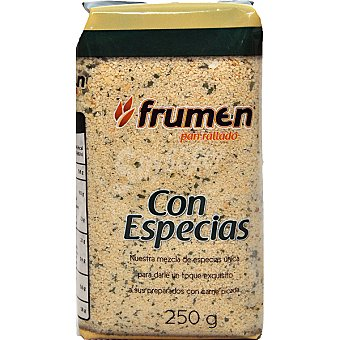 FRUMEN Pan rallado con especias bolsa 250 g
