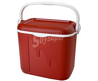 Curver Nevera rígida modelo Pop, con capacidad de 32 litros y fabricada en polipropileno de color rojo, medidas: 42.8x33.3x41 centímetros 1 unidad