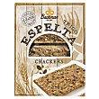 Cracker de espelta (100% espelta integral) 4 paquetes x 3 u Bachman