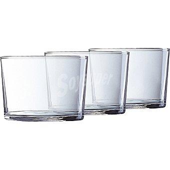 LUMINARC Islande vasos de vidrio 20 cl set de 3 unidades 20 cl