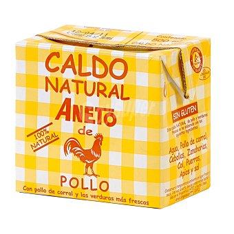 Aneto Caldo natural de pollo Brik 500 ml