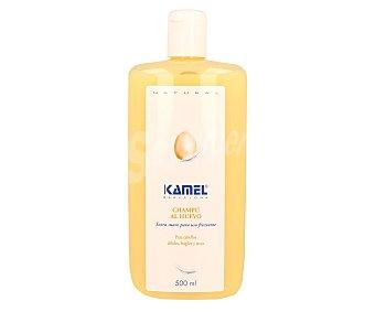 Kamel Champú al huevo para cabellos débiles, frágiles y secos 500 mililitros