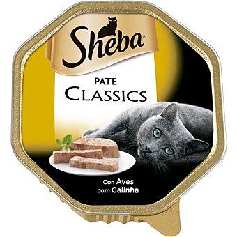 Sheba Comida para gatos humedo pate de pollo 85 g