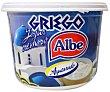 Yogur griego, cremoso, natural, azucarado y sin gluten 500 gramos Albe