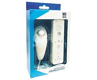 Indeca Mando remoto más Nunchaku para Wii y wiiu indeca