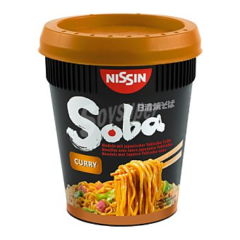 Nissin Pasta curry Soba cup 88 g