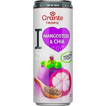 Grante Bebida de zumo de mangostán y chía tropic Lata 25 cl