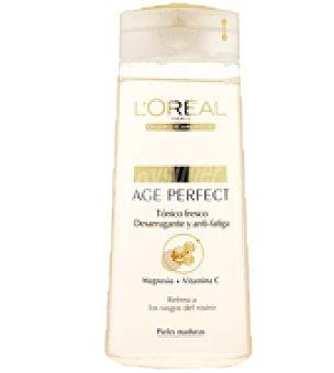 Age Perfect L'Oréal Paris Tónico desmaquillante anti-fatiga pieles maduras 200 ml