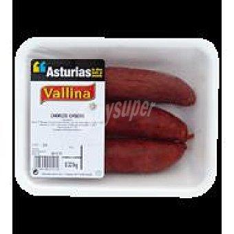 Chorizo casero Asturiano Bandeja de 300.0 g. aprox