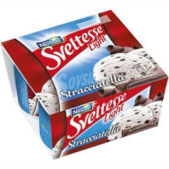 Nestlé Yogur 0% sveltes straciatella Pack 4x125 g