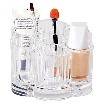 Organizador transparente para cosméticos y accesorios de belleza