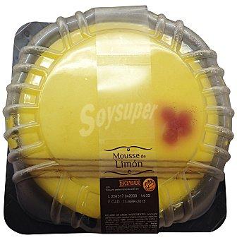 Hacendado Tarta mousse limón (redonda ) pastelería horno 700 g