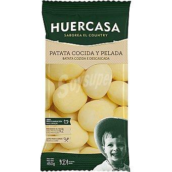 Huercasa Patatas cocidas al vacio Bolsa 450 g