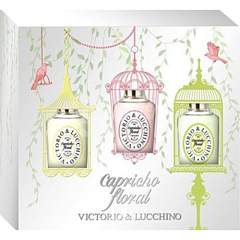 VICTORIO & LUCCHINO Floral eau de toilette Azahar + eau de toilette Magnolia spray 30 ml + eau de toilette Rosa spray 30 ml Spray 30 ml