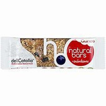 Delicatalia Barrita ecológica de quinoa-arándanos 40 g