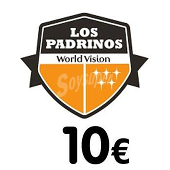 World Vision Donativo 10 € Los Padrinos 1u