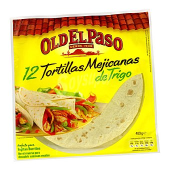 Old el Paso Tortillas de trigo 515 g