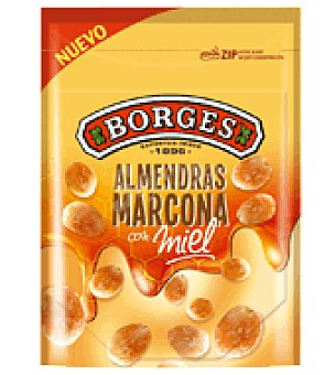 Borges Almendras marconas con miel 90 g