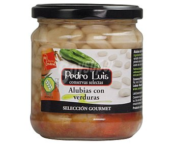 Pedro Luis Alubias con verduras selección gourmet 345 g