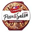 Pizza de carne barbacoa, mozzarella, pimiento y salsa barbacoa 410 g Campofrío