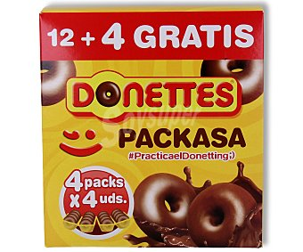 Donettes Donettes packasa 12 ud