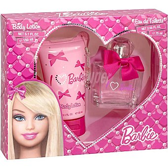 Barbie eau de toilette infantil + body loción Spray 75 ml
